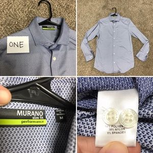 EIGHT Men's Dress Shirts - Will Sell Separately